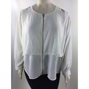 NY Collection Women's Long Sleeve Top Sz 3X - N836